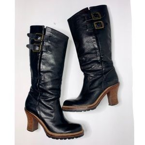 Frye Mildred Engineer Pull-on Boots